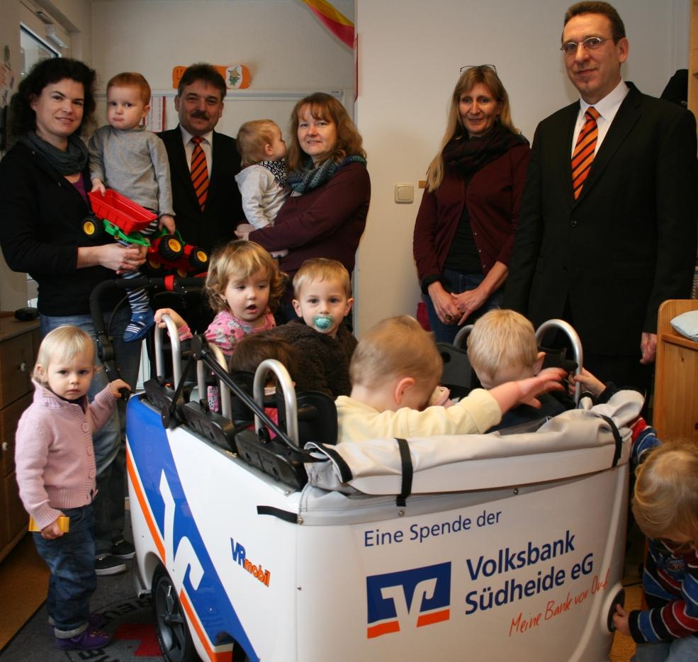 VR-Mobil Kinderbus für den Kindergarten Leiferde