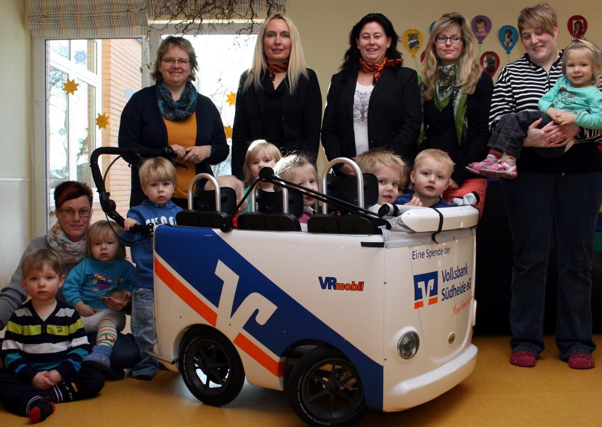VR-Mobil Kinderbus für den Kindergarten Hambühren