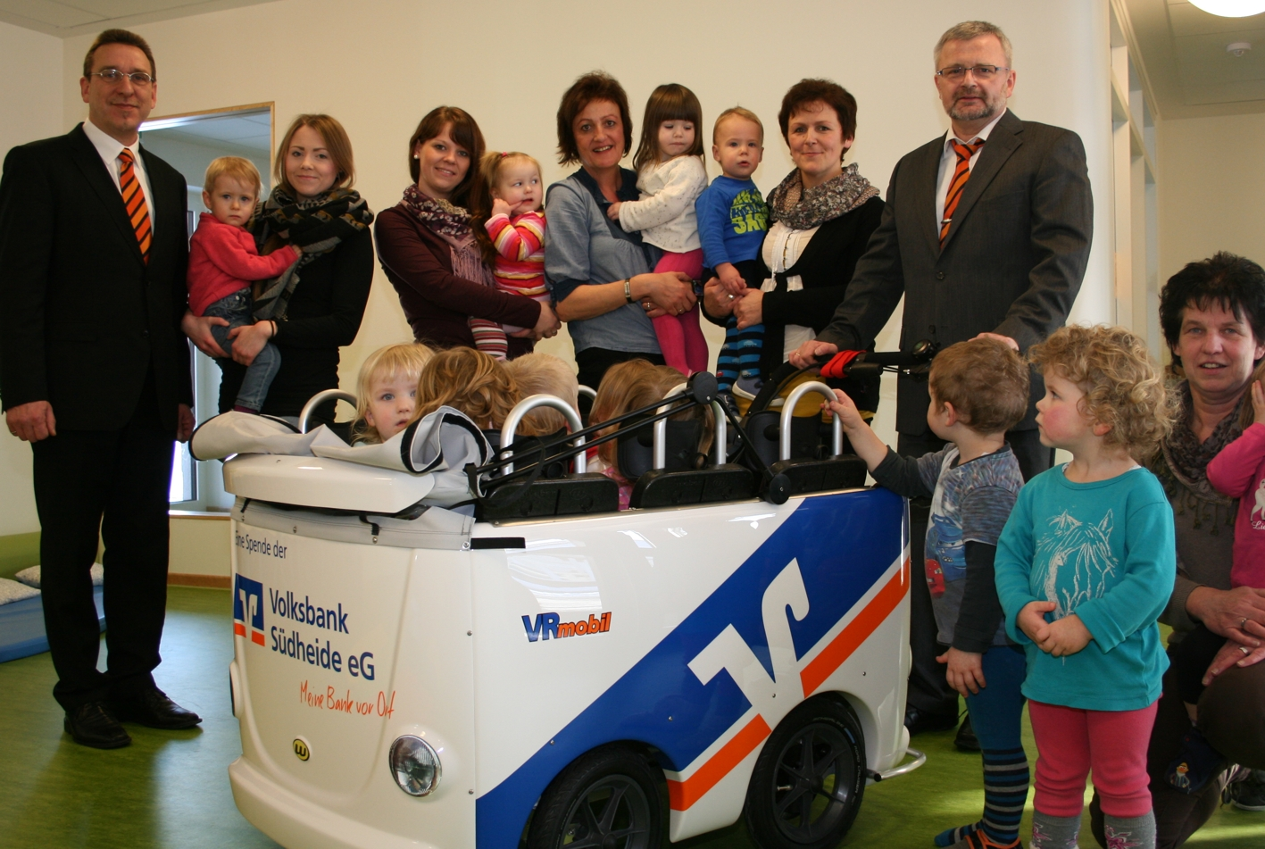 VR-Mobil Kinderbus für den Kindergarten Müden/Aller